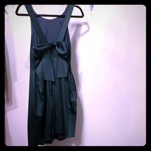 Slate & Willow emerald party dress w/ bowtie back